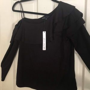 Gibson (Nordstrom) Living in Yellow Date Night Top